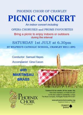 Summer Picnic Phoenix Choir
